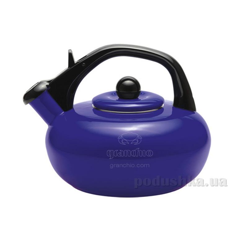 Чайник эмалированный Sfera Granchio 88613 Blue