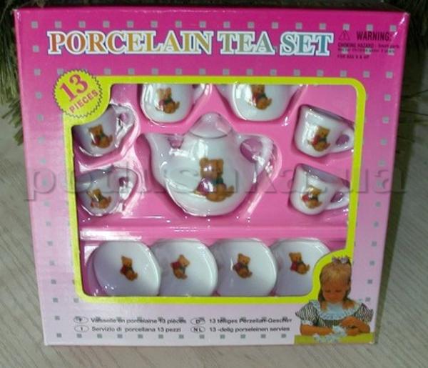 Чайный мини-набор, 13 ед. Ленивый медведь