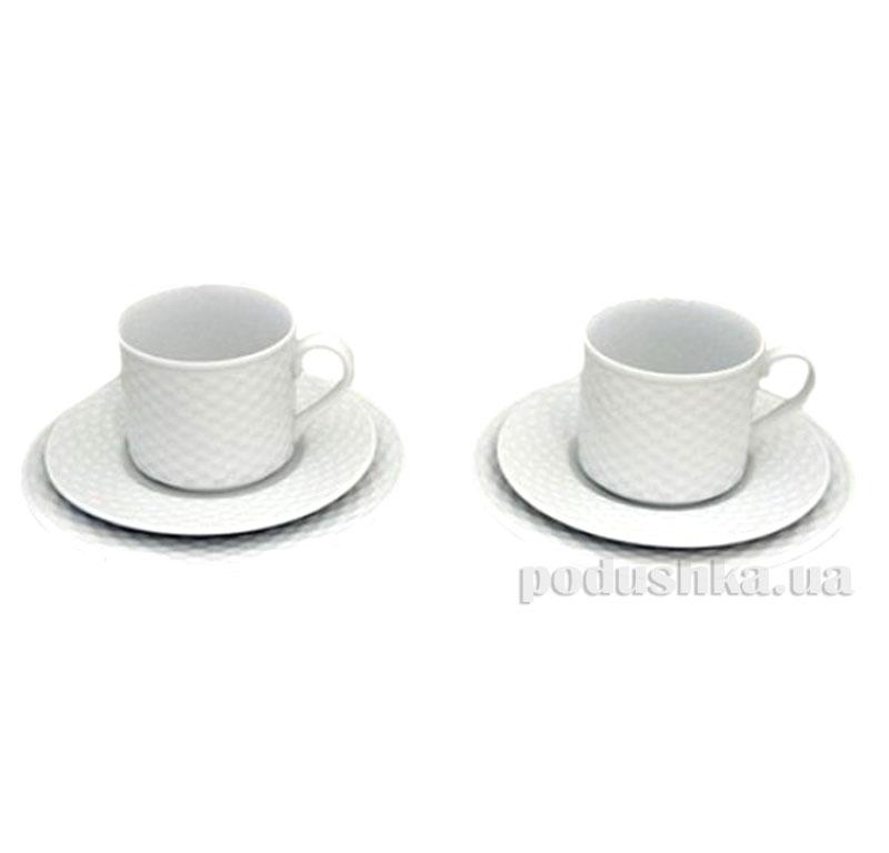 Чайный набор 6 предметов Polo Mitterteich PL06CS00   Mitterteich
