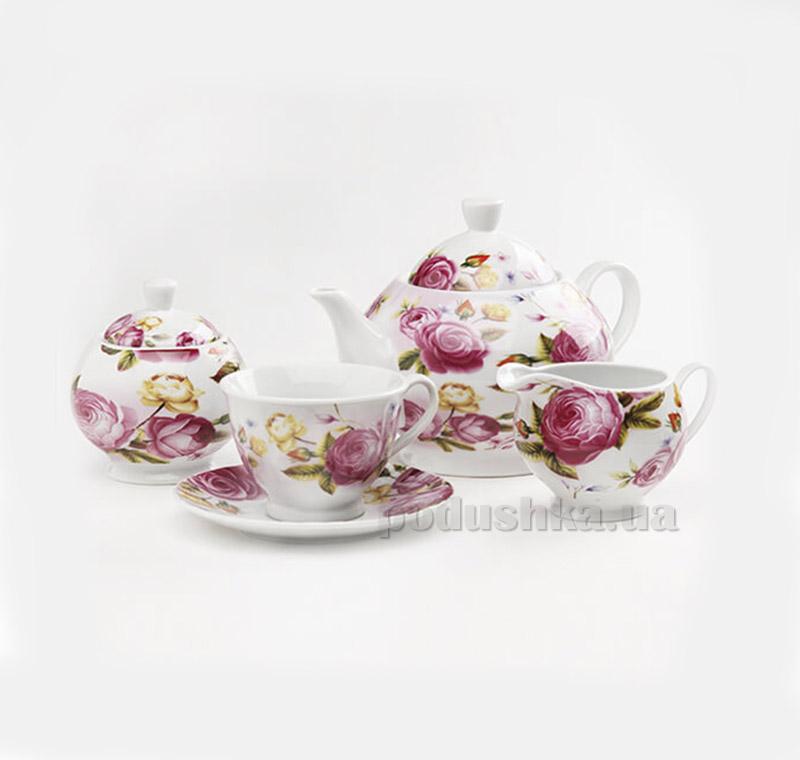 Чайный набор MR10045-17S Maestro Розы 17 предметов