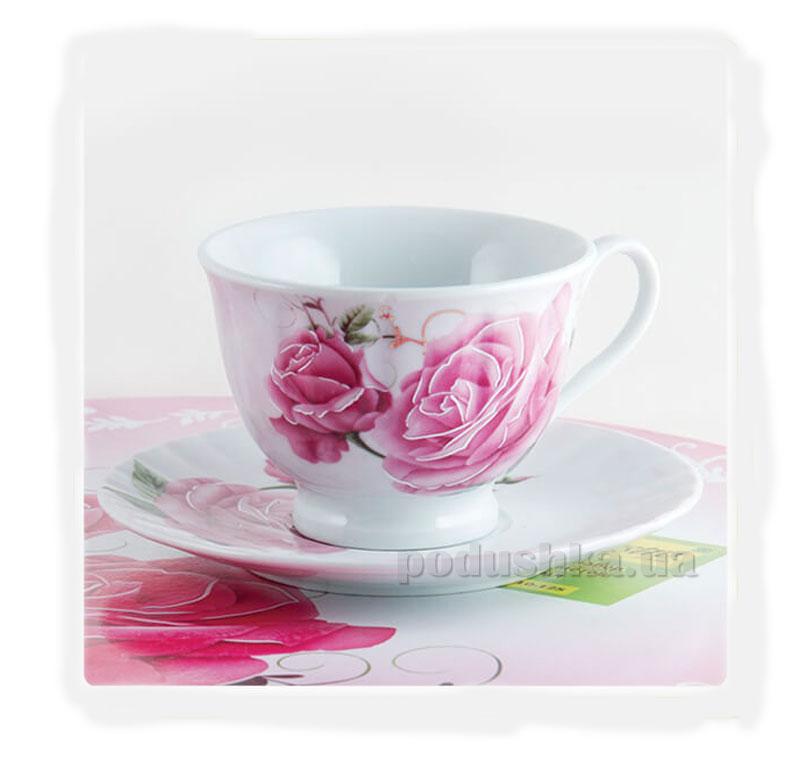 Чайный набор MR. 10010-12S Maestro Розы 12 предметов