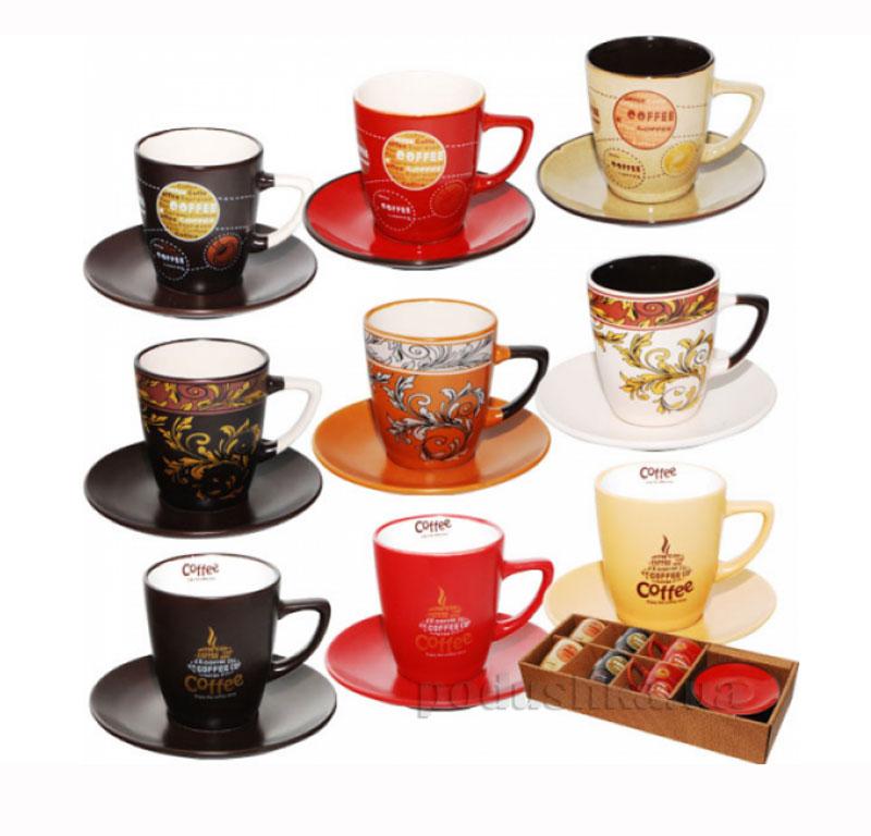 Чайный сервиз 12 предметов Мокко микс ST 1517-01