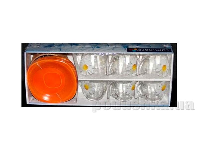 Чайный сервиз Luminarc Aime Carina Paquerette melon G5919
