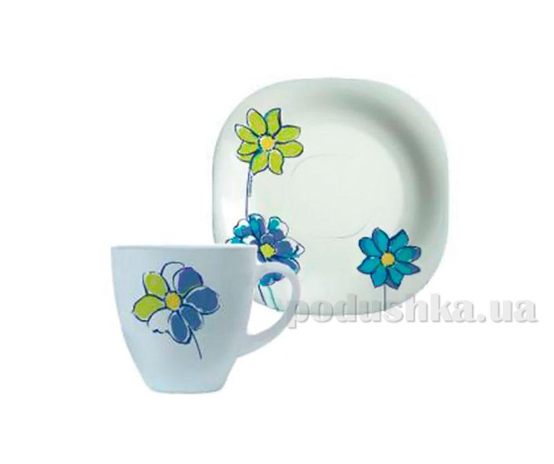 Чайный сервиз Luminarc Fresh Garden синий H8663