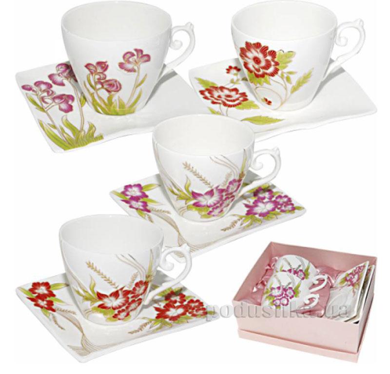 Чайный сервиз Цветы ST 157-01