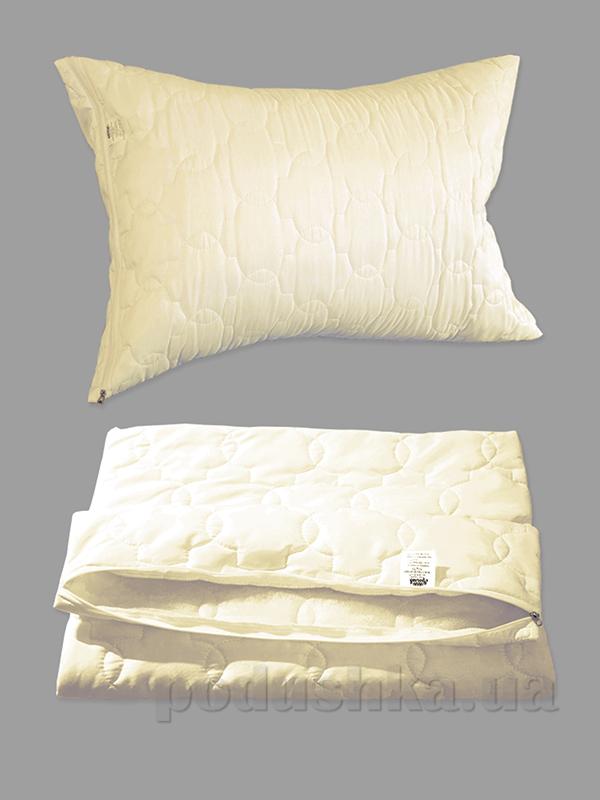 Чехол для подушки на молнии Ярослав молочный