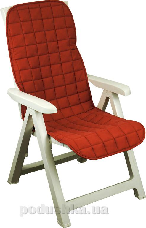 Чехол на кресло Руно 833 бордовый