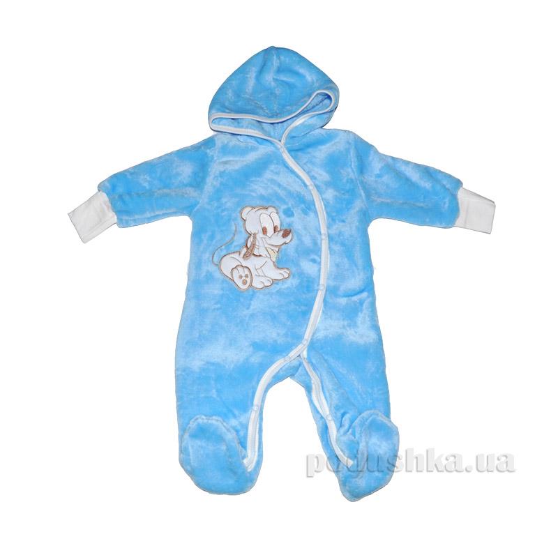 Человечек-комбинезон с капюшоном для мальчика Витуся 0709143