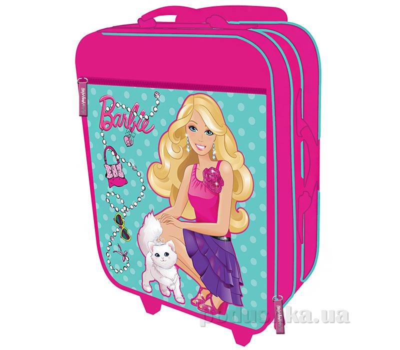 Чемодан на роликах Barbie