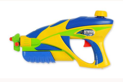 Водный пистолет - DEFENDER - STR90 (желто-голубой)