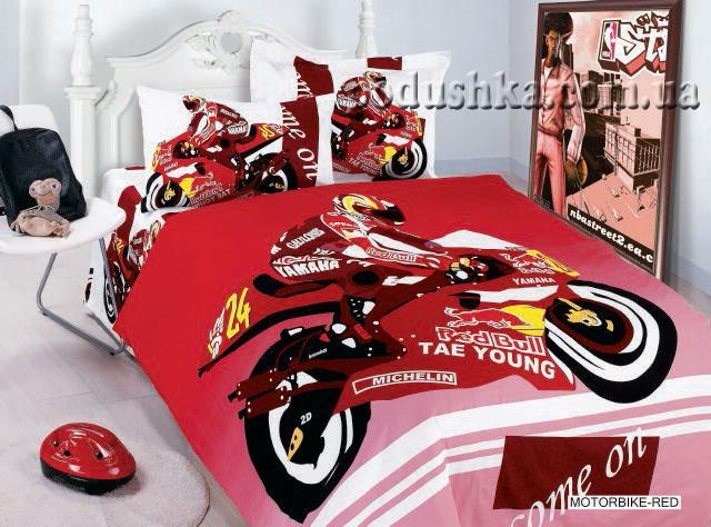 Комплект постели Motorbike red, ARYA