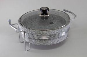 Круглый мармит (нерж. сталь) 5770-S