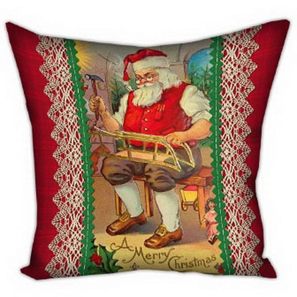 Подушка Санта-1