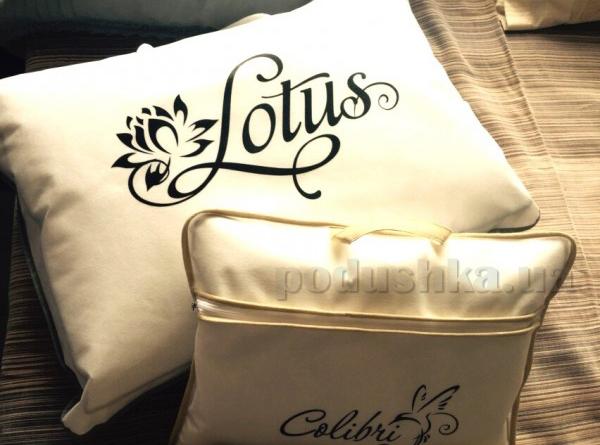 Подушка детская Lotus Colibri Tencel персиковая 35х45 см  Lotus