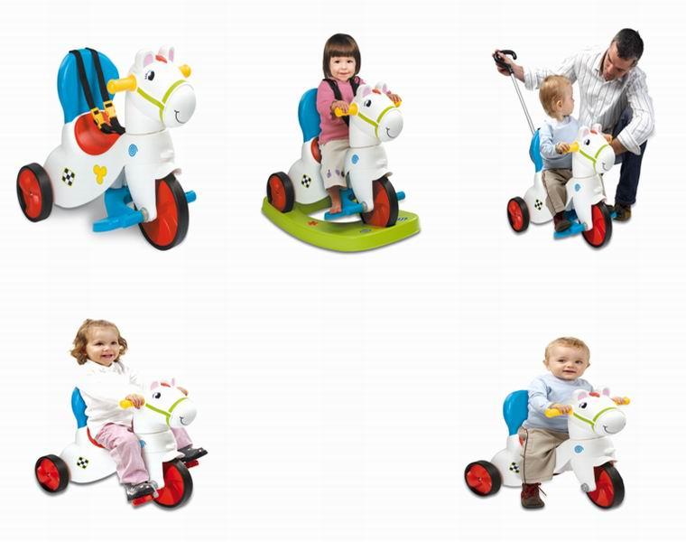 Детский велосипед-качалка