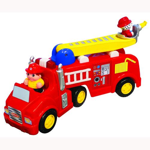Игрушка на колесах - Пожарная машина (звук)