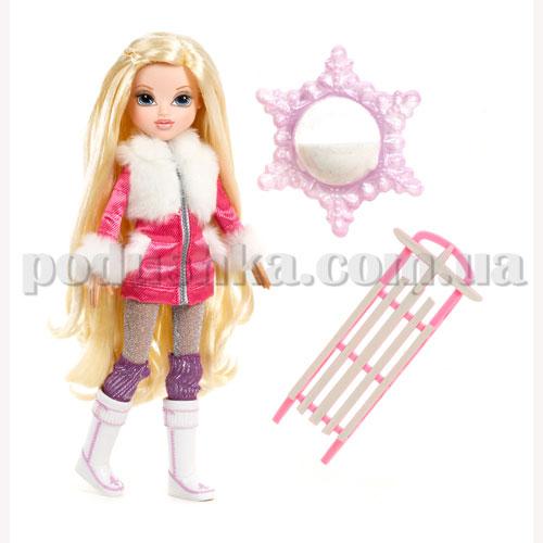 Кукла Moxie серии Зимняя сказка - Эйвери со снегом и санками