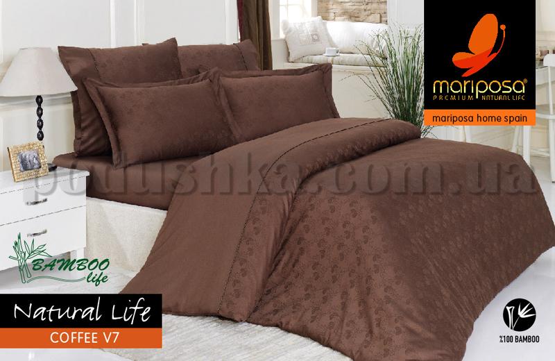 Постельное белье Mariposa Natural Life Coffee V7