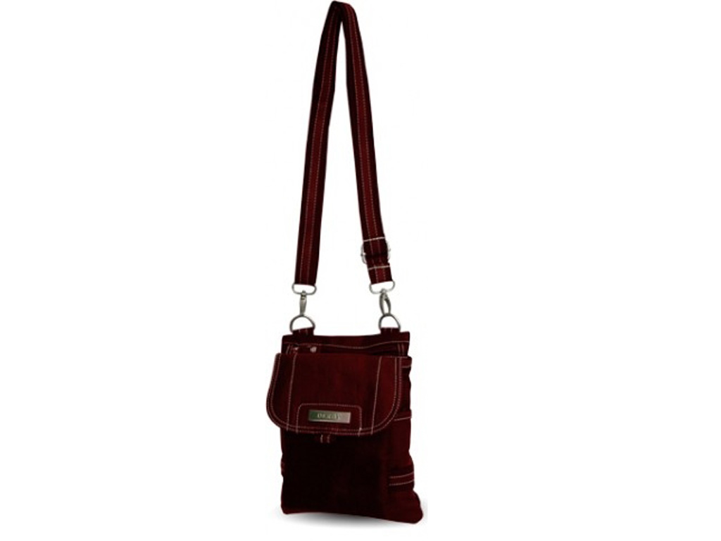 Бордовая молодежная сумка Derby 0270198