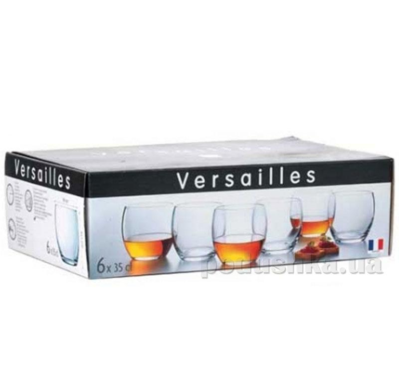 Набор стаканов Luminarc Versailles 6х350 мл низкие G1651*   Arcoroc