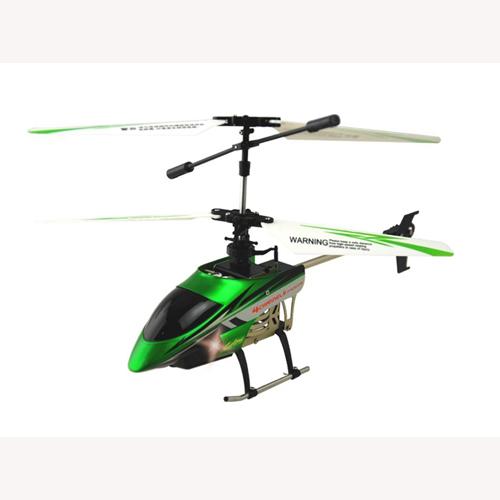 Вертолет радиоуправляемый - Fly Fantasy (зеленый, 22 см, с гироскопом, 4-канальный)