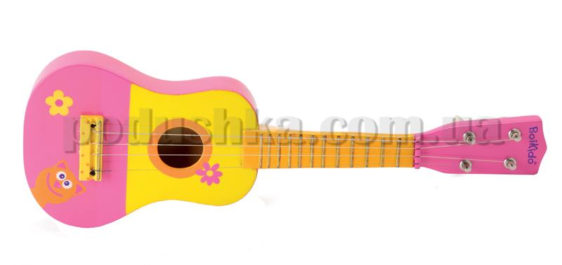 Розовая гитара Boikido