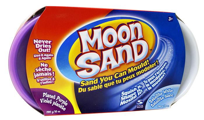 Смесь для лепки 2 цвета песка, Moon Sand