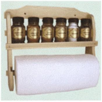 Набор специй 6пр. + полотенце, светлая сосна DORMAN