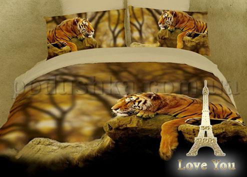 Постельное белье Love You Тигр
