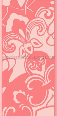 Полотенце махровое Унисон Витраж розовый