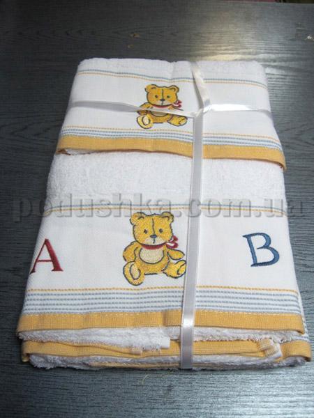 Набор махровых полотенец Mariposa Мишка
