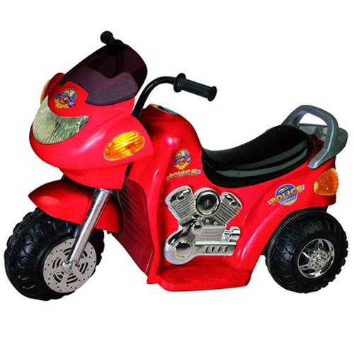 Мотоцикл - POLICE (красный)