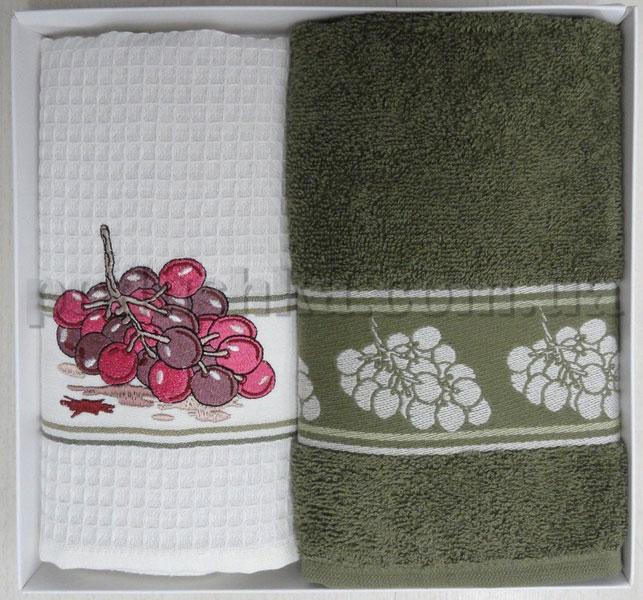 Набор кухонных полотенец PAVIA GRAPES (ВИНОГРАД)