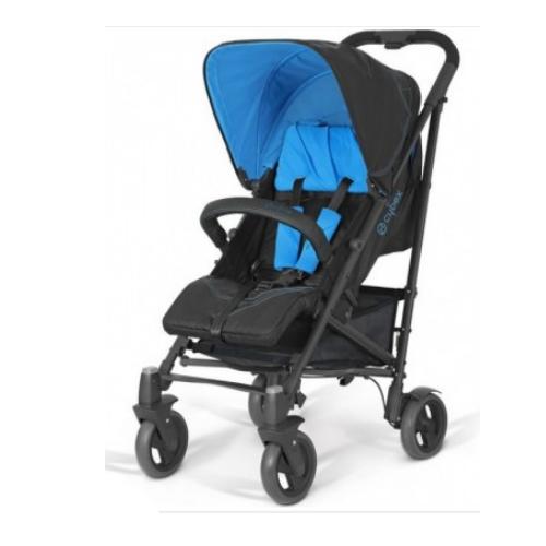 Коляска Callisto Fashion Electric Blue с дождевиком