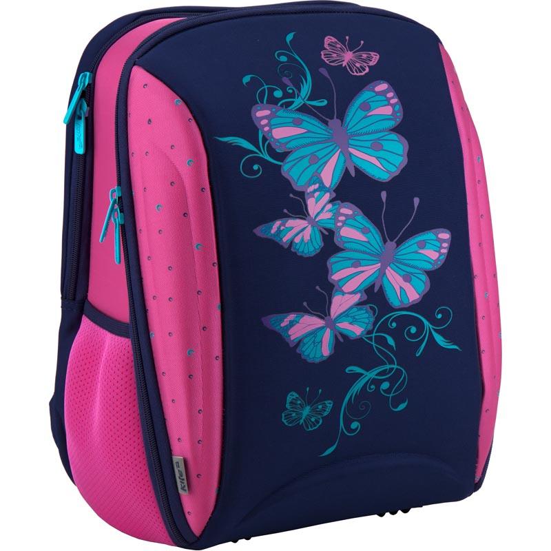 84e50e2bc583 Рюкзак школьный каркасный Kite Butterfly K18-732M-1 розовый, синий ...