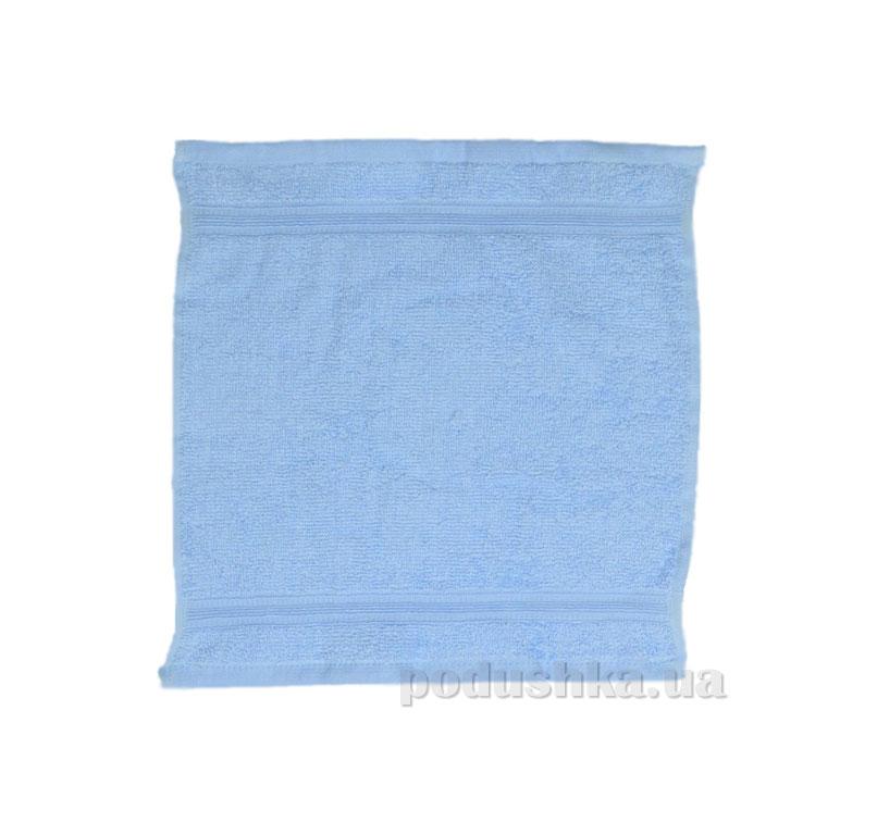 Махровое полотенце Home line Индия голубое 30х30 см  Home line