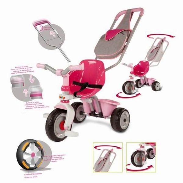 Трехколесный велосипед Розовая мечта