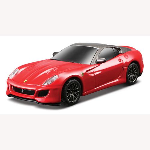 Игровой набор - Ferrari 599 GTO (автомодель со светом и звуком, аксессуары )