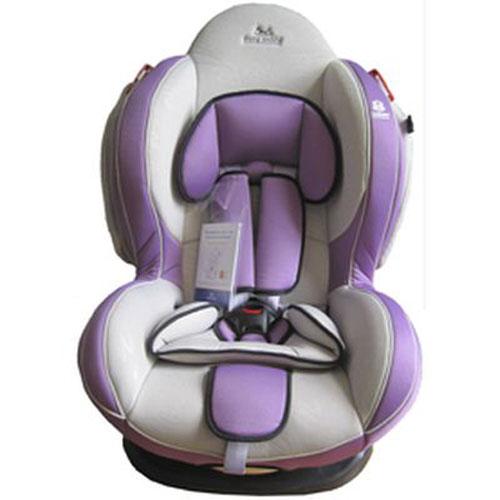 Автокресло Baby Shield Welldon CuddleMe Light Grey/Violet