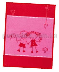 Плед детский Friends красный 575029 Kids cotton Bocasa