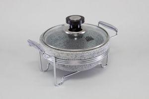 Круглый мармит(нерж сталь) 5771-S