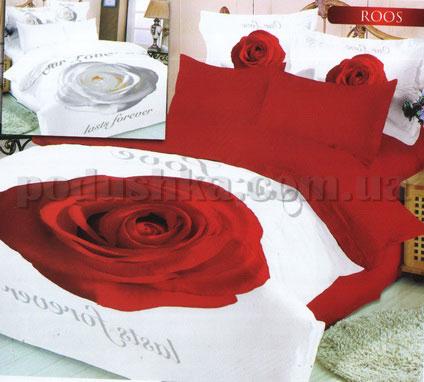 Постельное белье Le Vele Roose red