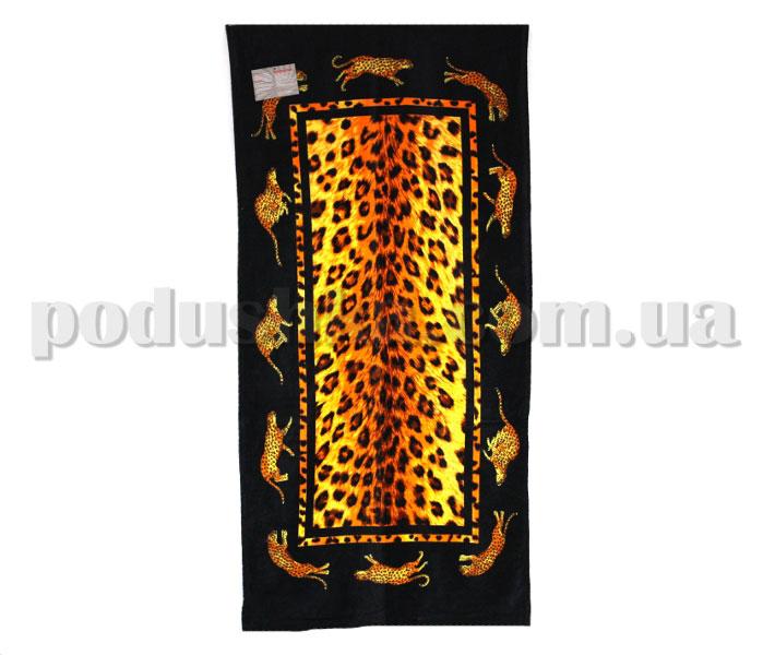 Полотенце пляжное Home line Леопард 82076