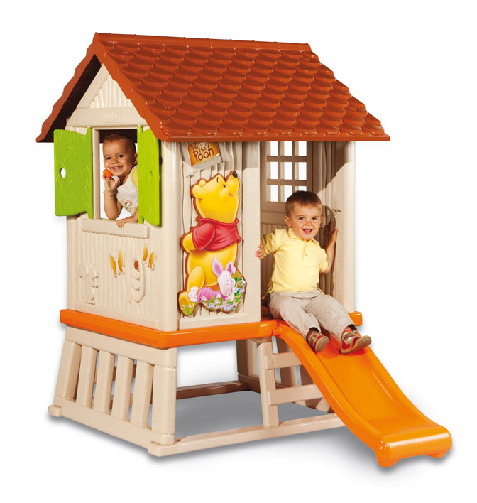 Домик с горкой Winnie the Pooh Maxi, 80 см