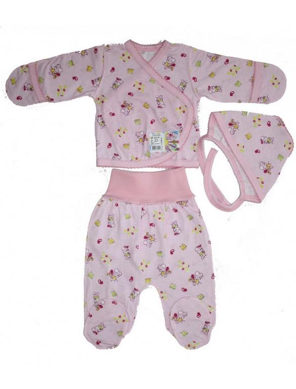 Комплект для новорожденных Фламинго 654