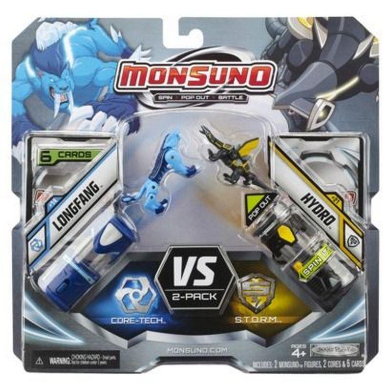 Набор для битвы Monsuno Core-Tech - S.T.O.R.M Longfang и Hydro Сombat 2-Packs W2 24972-14562-MO