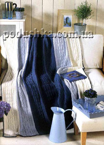 Набор подушки + плед (ручная работа) 3