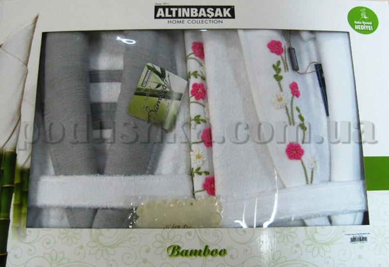 Набор Altinbasak халаты и полотенца 3
