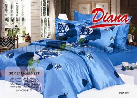 Постельное белье Dear blue 013 Diana