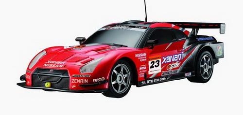 Автомобиль радиоуправляемый 2008 Nissan GT-R Super GT красный